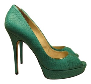 Jimmy Choo JADE GREEN Pumps