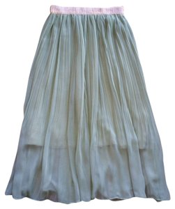 Showroom Spring Summer Pastel Skirt Mint green