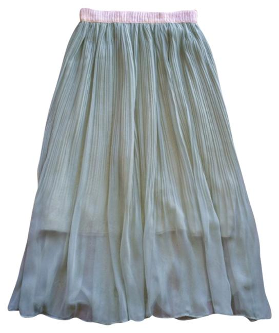 Preload https://item4.tradesy.com/images/mint-green-pastel-pleated-skirt-size-6-s-28-13380988-0-1.jpg?width=400&height=650