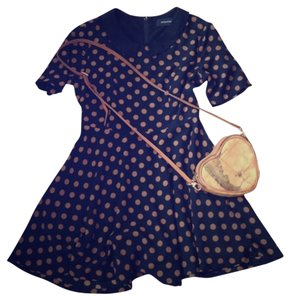 MINKPINK short dress Polka dot Peter Pan Collar on Tradesy