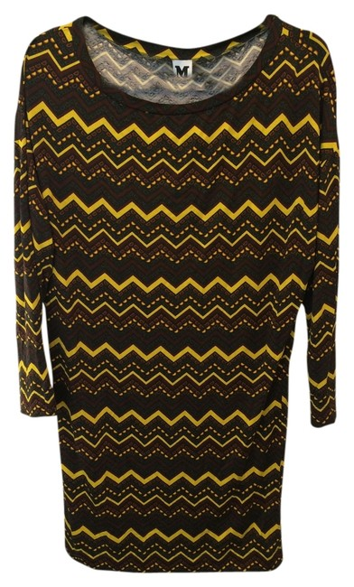 Preload https://item5.tradesy.com/images/missoni-yellow-brown-black-zig-zag-pattern-short-casual-dress-size-4-s-1338149-0-0.jpg?width=400&height=650