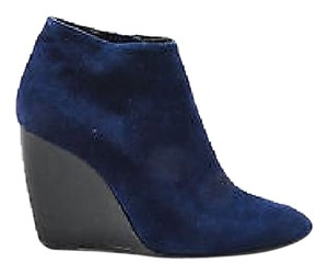 Pierre Hardy Navy Suede Blue Boots