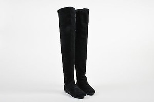 Giuseppe Zanotti Over The Knee Black Boots