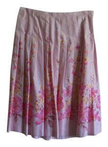Bandolino Skirt Pink with flowers