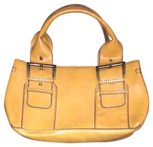 ALDO Satchel in Yellow