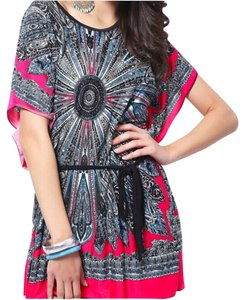 Other short dress Pink Bohemian Paisley Beach Boho on Tradesy