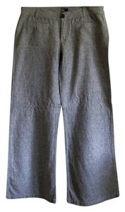 Express Comfortable Sharp Wide Leg Pants black and white tweed