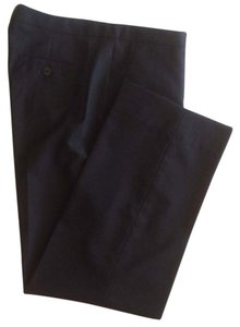 Louis Vuitton 100% Wool Light-weight Fabric Straight Pants Black