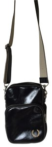 Fred Perry Leather Cross Body Bag