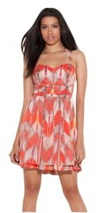 Guess Halter Sweetheart Dress