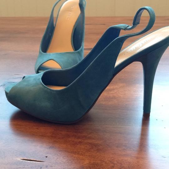 Nine West Light blue Platforms