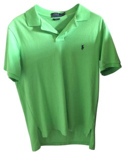Polo Sport Ralph Collar Unworn T Shirt Green