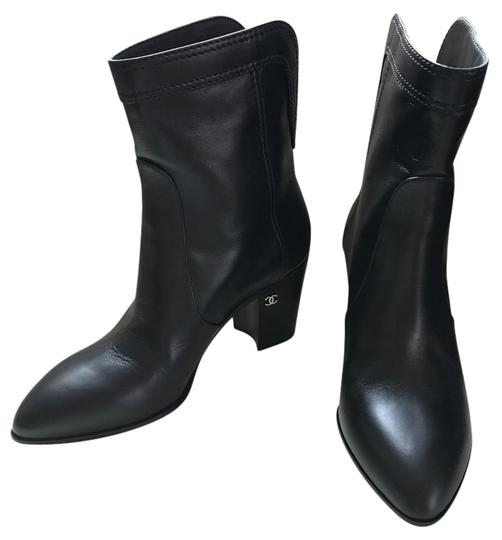 Preload https://item5.tradesy.com/images/chanel-black-leather-short-cowboy-ankle-bootsbooties-size-us-7-regular-m-b-13384534-0-1.jpg?width=440&height=440