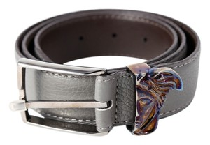 Versace * VERSACE COLLECTION Medusa belt Gray