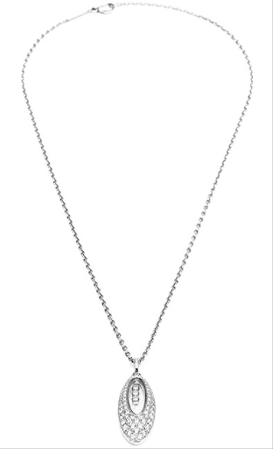 Chopard 18k White Gold Diamonds 797782-1201 Necklace Image 1