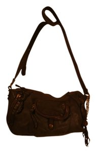 Olivia Harris Leather Shoulder Bag