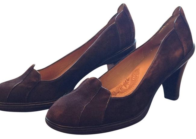 Item - Dark Brown Pumps Size US 9 Regular (M, B)