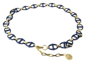 Tory Burch * Tory Burch Nautical Chain Link Belt Large