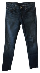 7 For All Mankind Straight Leg Jeans-Dark Rinse