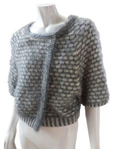 Anthropologie Wool Shrug Batwing Knit 7962 Cardigan