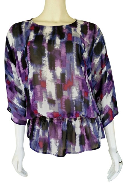 Chico's Chiffon Top Purple