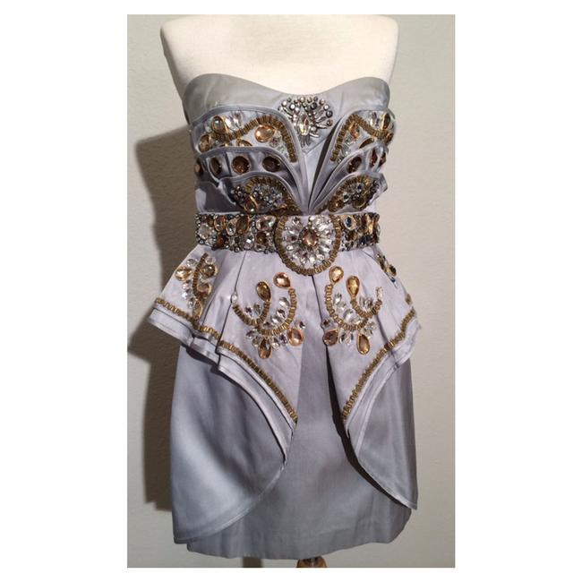 Preload https://item4.tradesy.com/images/temperley-london-silver-gold-beaded-mini-corry-short-cocktail-dress-size-6-s-13385983-0-2.jpg?width=400&height=650