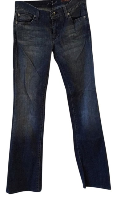 Preload https://item1.tradesy.com/images/7-for-all-mankind-blue-boot-cut-jeans-size-27-4-s-13386070-0-1.jpg?width=400&height=650