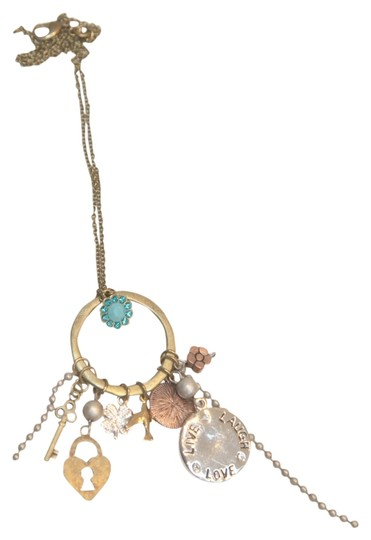 Michal Negrin Love and Peace Necklace