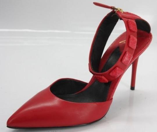 Preload https://item1.tradesy.com/images/b-brian-atwood-red-leather-mercada-studded-ankle-strap-pointy-pumps-size-us-8-regular-m-b-13386445-0-0.jpg?width=440&height=440