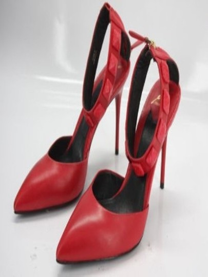 B Brian Atwood 029015036996 Party Red Pumps