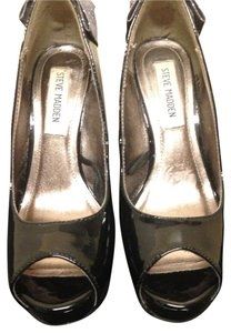 Steve Madden Black/grey Pumps
