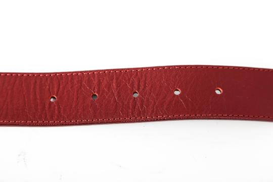 Tory Burch * Tory Burch Red Leather Belt