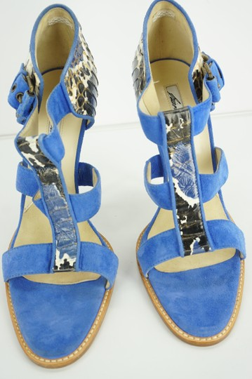 Brian Atwood 8055113638819 Party Formal Get Noticed Blue Sandals