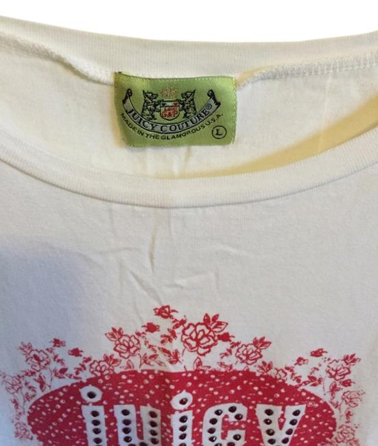 Preload https://item1.tradesy.com/images/juicy-couture-white-tee-shirt-size-12-l-13386895-0-1.jpg?width=400&height=650