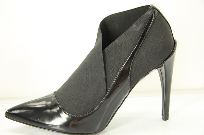 Dior Black Leather Stretch Strap Pointed Toe High Heel Pumps Boots/Booties Size EU 35.5 (Approx. US 5.5) Regular (M, B) Image 1