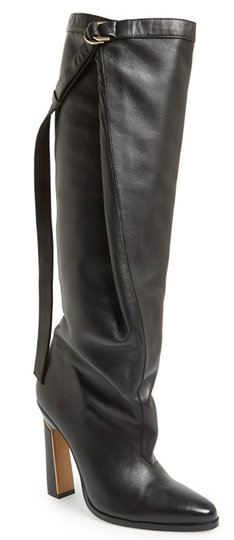 Preload https://item3.tradesy.com/images/derek-lam-black-leather-tonya-belted-dangle-strap-knee-high-bootsbooties-size-eu-375-approx-us-75-re-13387057-0-0.jpg?width=440&height=440