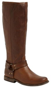 Frye Phillip Harness Leather Riding Boots