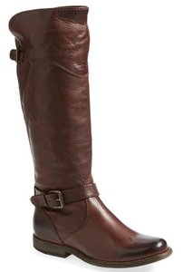 Frye Classic Engineer Knee High Tall Brown Boots