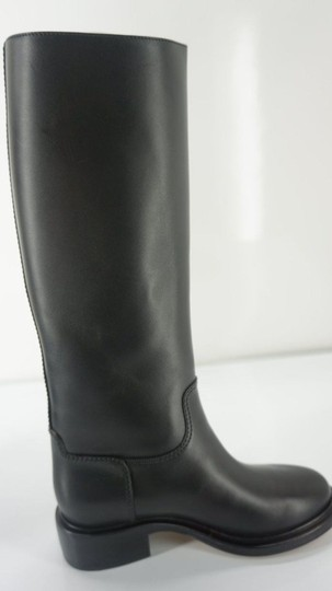 Chanel Tall Black Boots Image 1