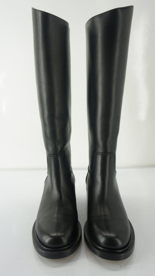 Chanel Tall Black Boots Image 4