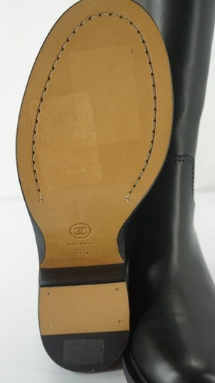 Chanel Tall Black Boots Image 5
