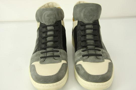 Gucci Suede Black Yellow Party Gray Athletic