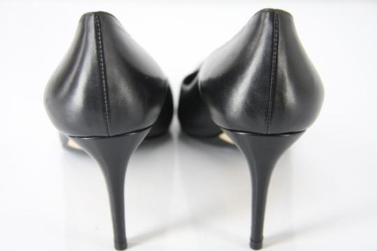 41933d4aba Gucci Black Leather Brooke Pointy Toe High Heel Classic Pumps Size ...