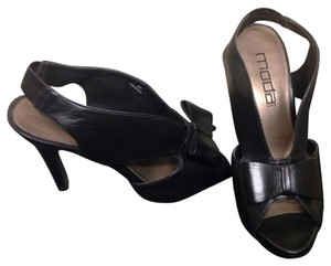 Moda Spana Black Pumps