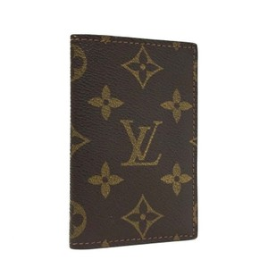 Louis Vuitton LV Monogram Luxury Business Card Holder Bi-fold Credit Card Wallet