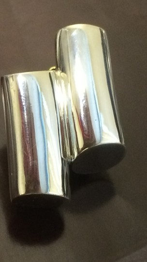 Other Sterling Silver .925 Double Stack Clip On Earrings