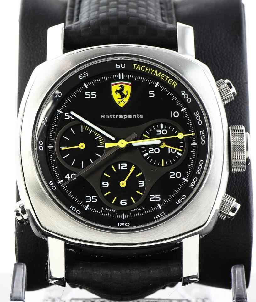 watch stainless i limited steel ferrari rattrapante ss mens edition panerai tradesy