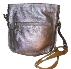 B. Makowsky Leather Cross Body Bag