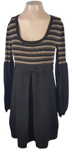Nanette Lepore short dress Brown Sweater on Tradesy