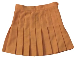 American Apparel Skirt Peach Glac